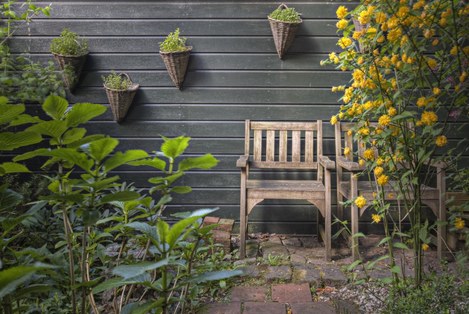 A smaller, level and more manageable garden is a good idea in an accessible home