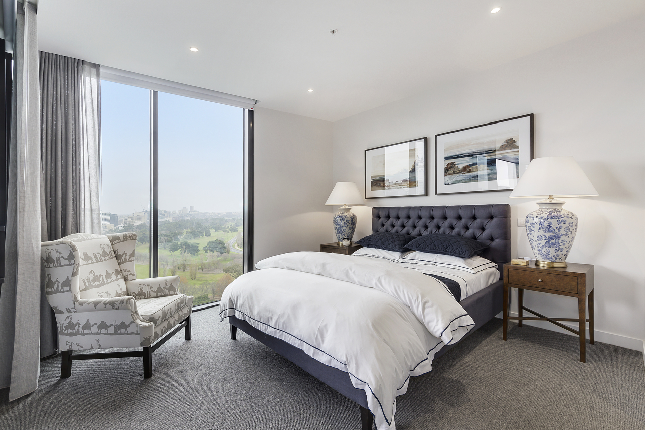 Apartments in The Grace enjoy stunning views