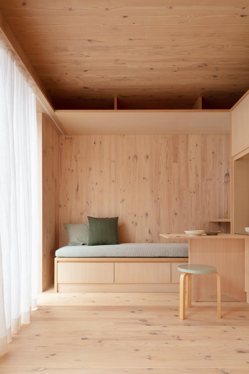 Interior of the Minima home design
