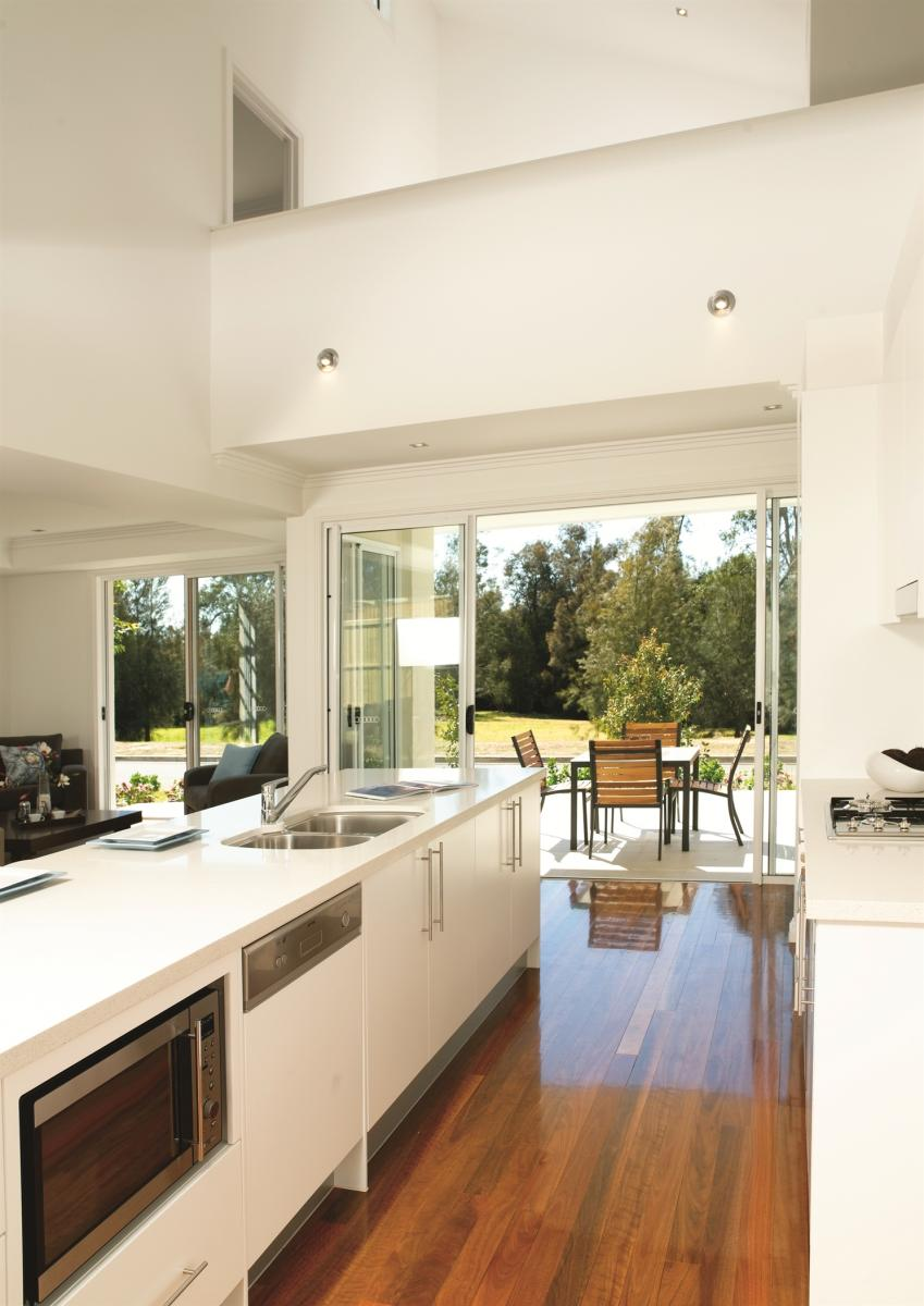 The layout of a kitchen is important feature of an accessible home Picture credit: Livable Housing Australia