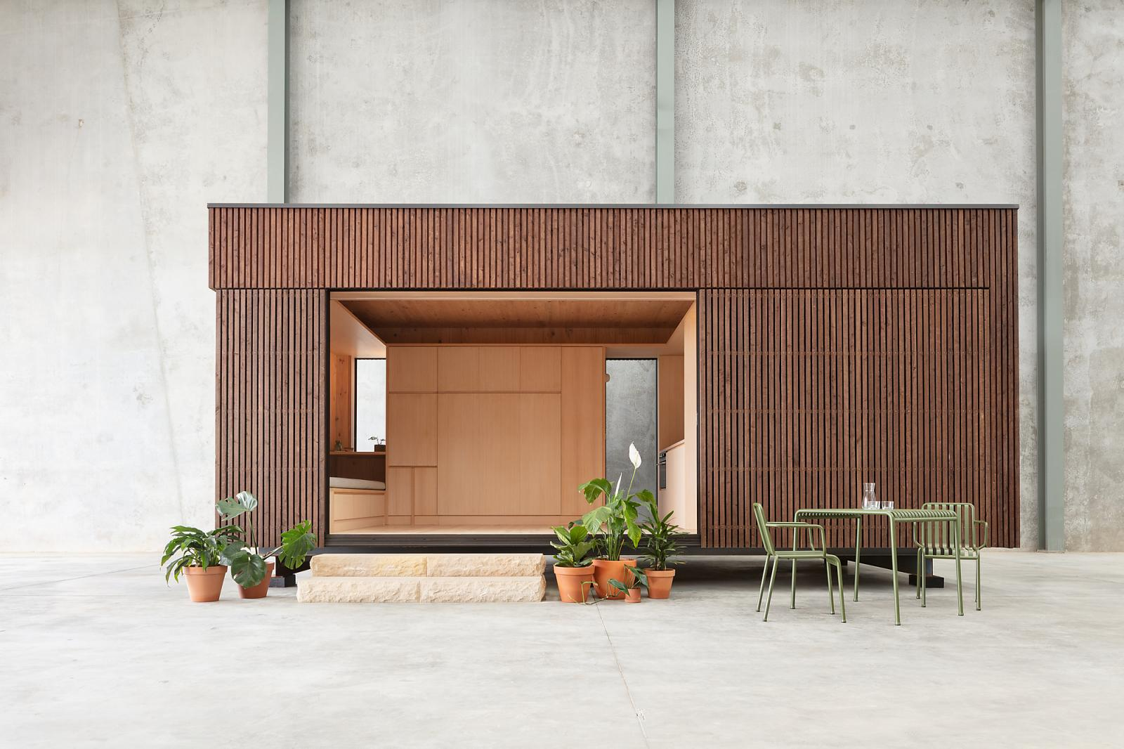 Minima is a stylish, efficient and practical new addition to the prefabricated home family