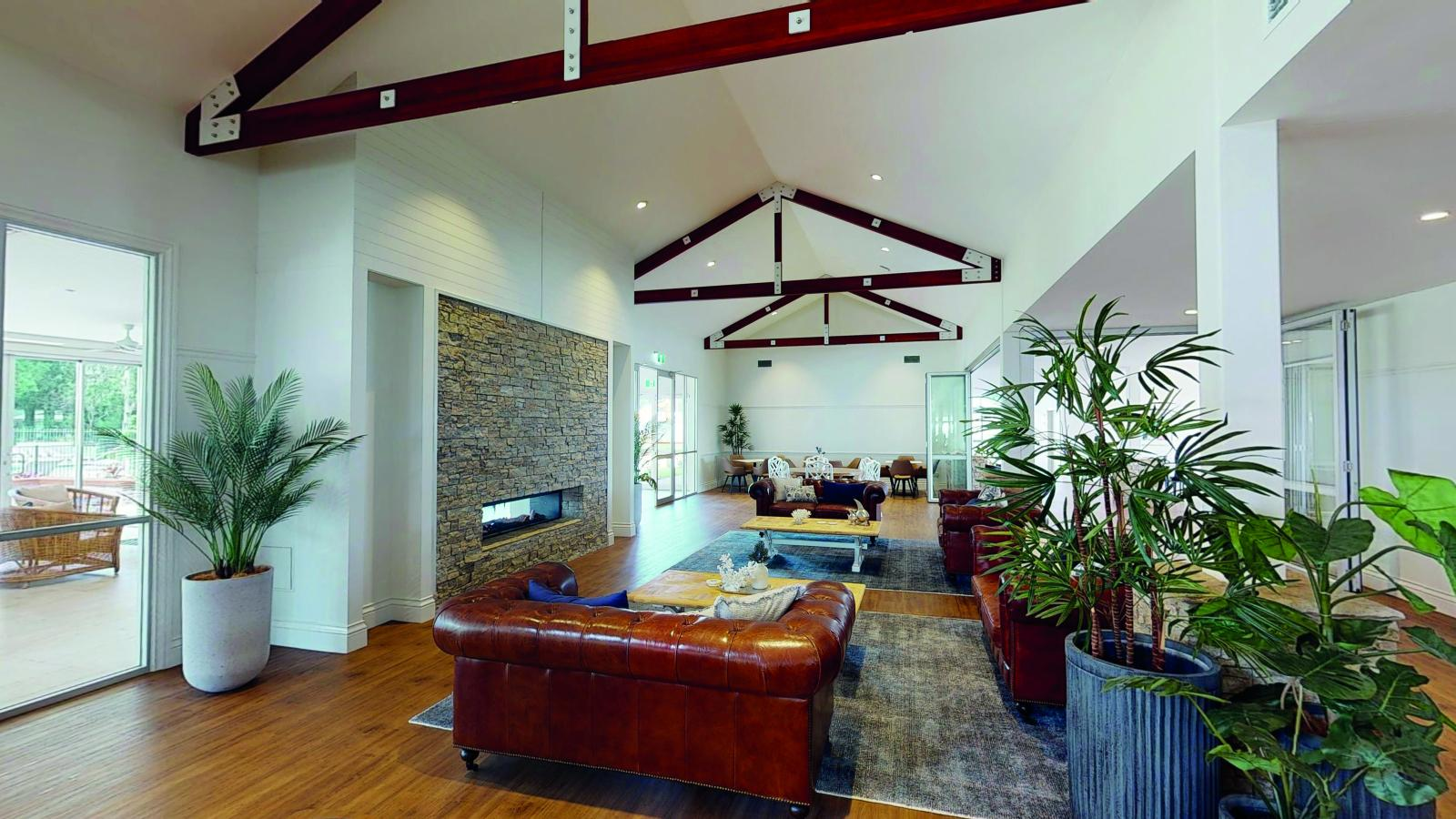 Interior of the Ingenia Lifestyle Plantations clubhouse