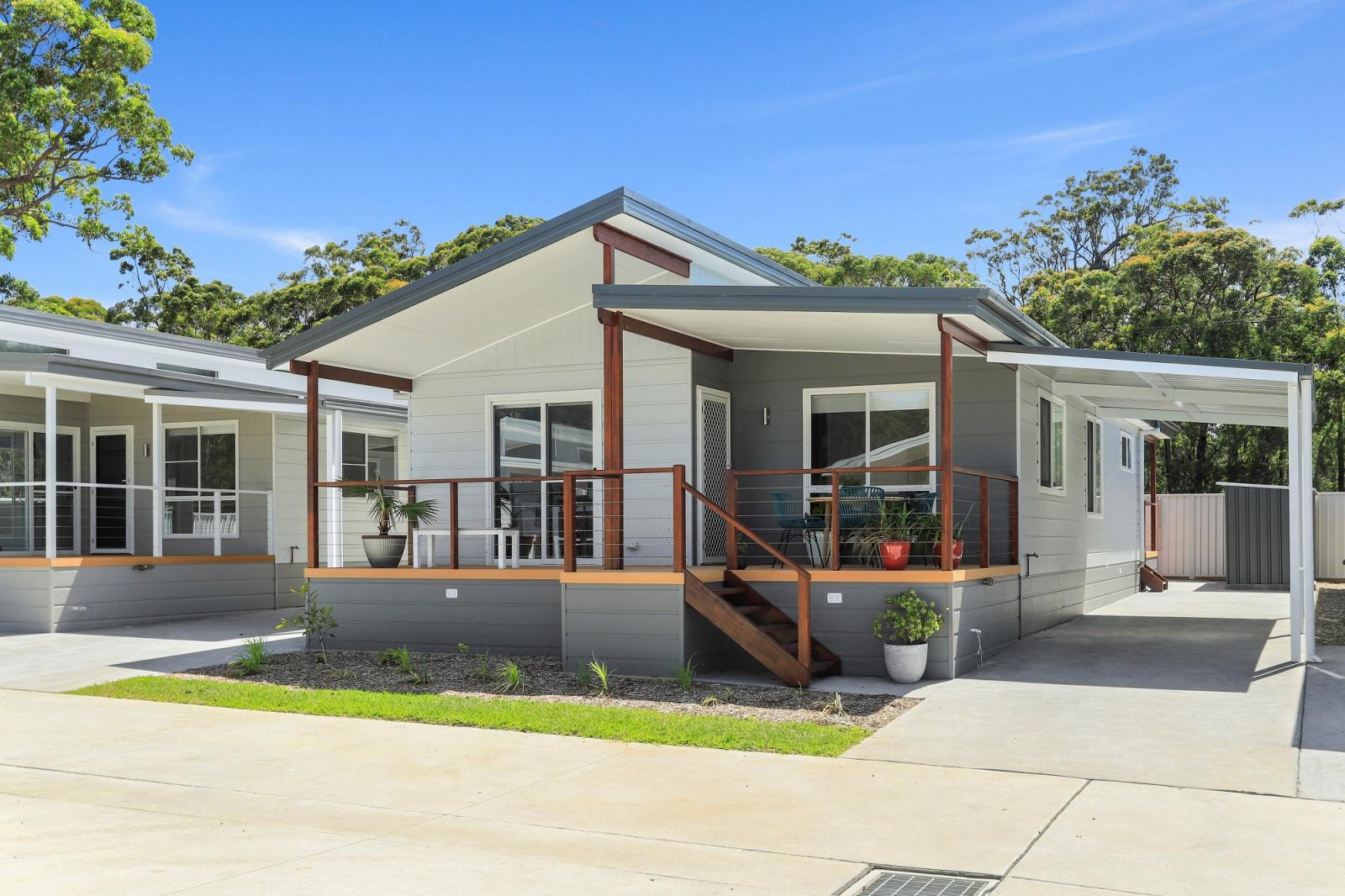 The Shore Break home design at Hometown Australia's The Dunes community at Sussex Inlet