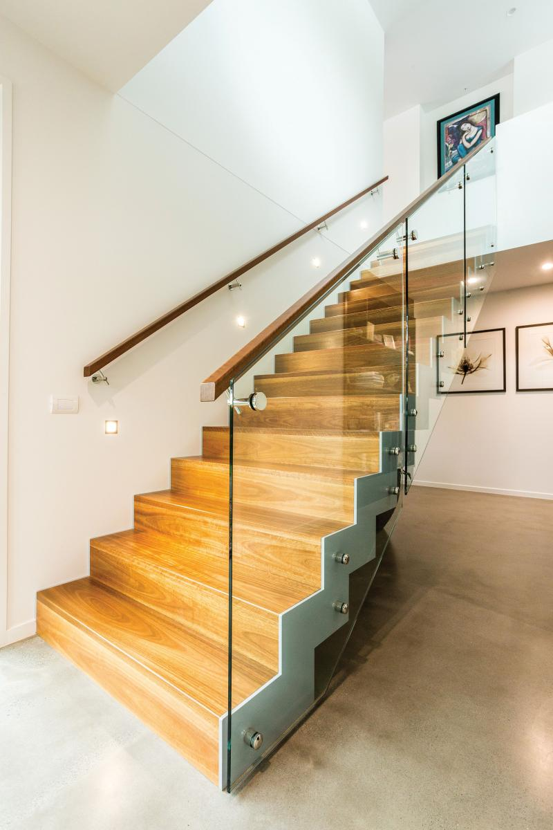 If you need stairs, stairs with handrails are a must Picture credit: Livable Housing Australia