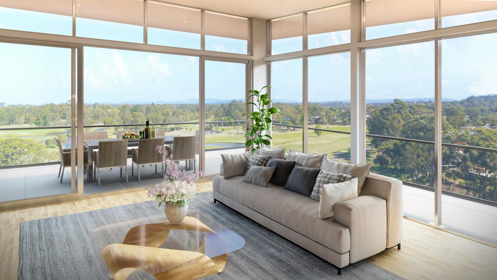 Apartments at Parkwood will have great golf course views